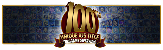 100th Unique iOS Title Free Game Giveaway