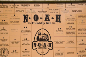NOAH CENTER friendship wall