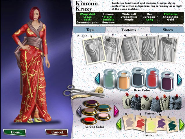 Fashion design simulation games 46