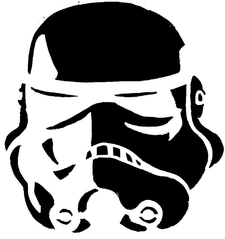 Storm Trooper Stencil Big Fish Blog