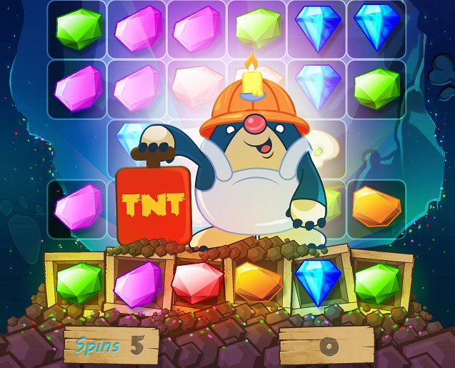 Tired of crushing candies then try a new spin on match for Cascade big fish game