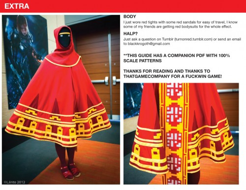 Journey Game Cosplay Journey Game Costume