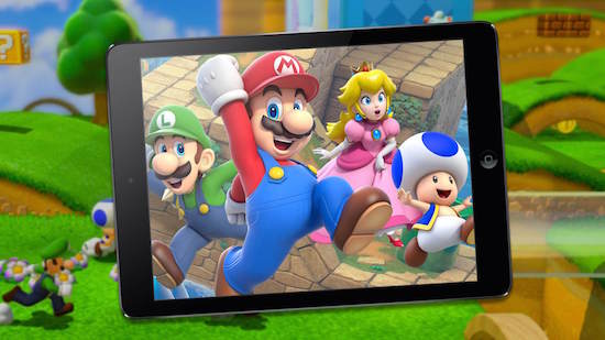 Nintendo comes to mobile games.