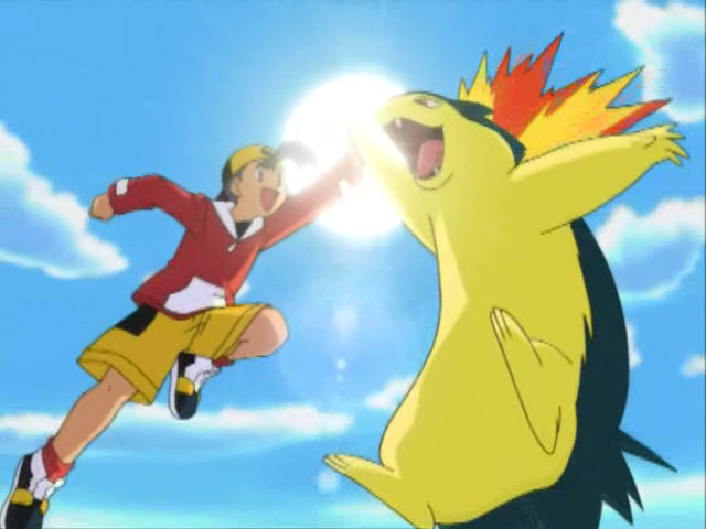 Pokemon high five