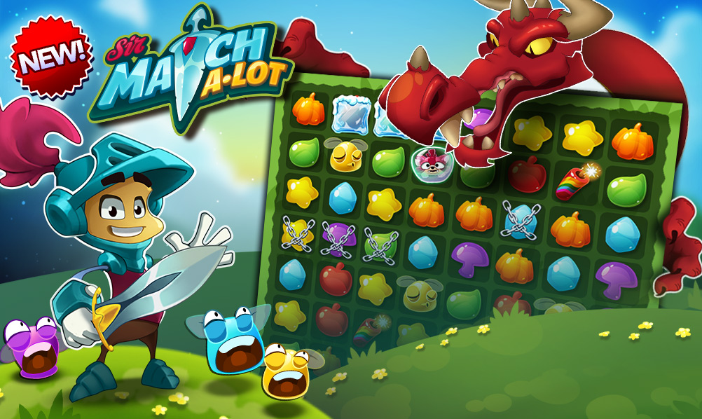 Sir Match-a-Lot Is Now Available on iOS and Android!